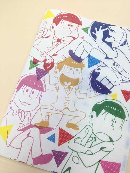 TVアニメ「おそ松さん」展おみやセット もこもこクリアファイル2