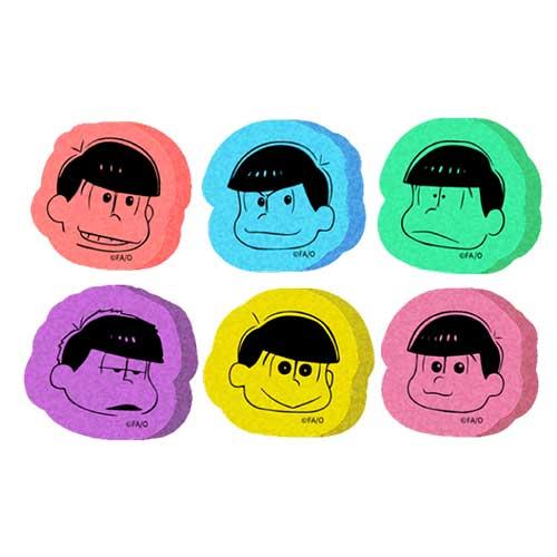 TVアニメ「おそ松さん」展おみやセット 6つ子おそうじスポンジセット